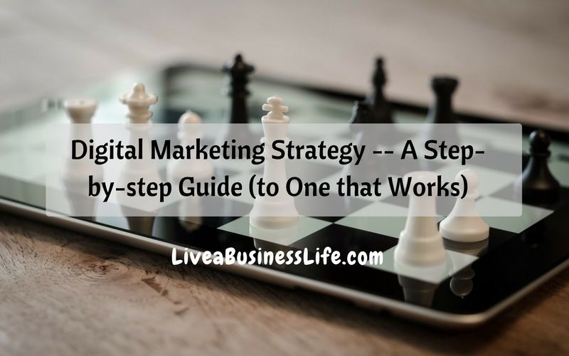 Digital Marketing Strategy -- A Step-by-step Guide (to One that Works)
