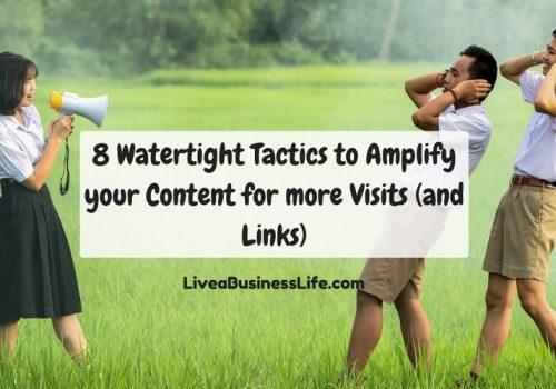 8 watertight tactics to amplify your content for more visits (and links)