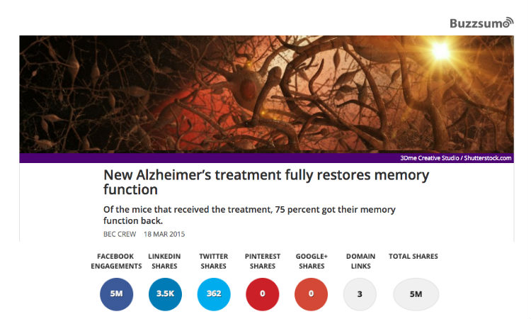 alzheimers' treatment