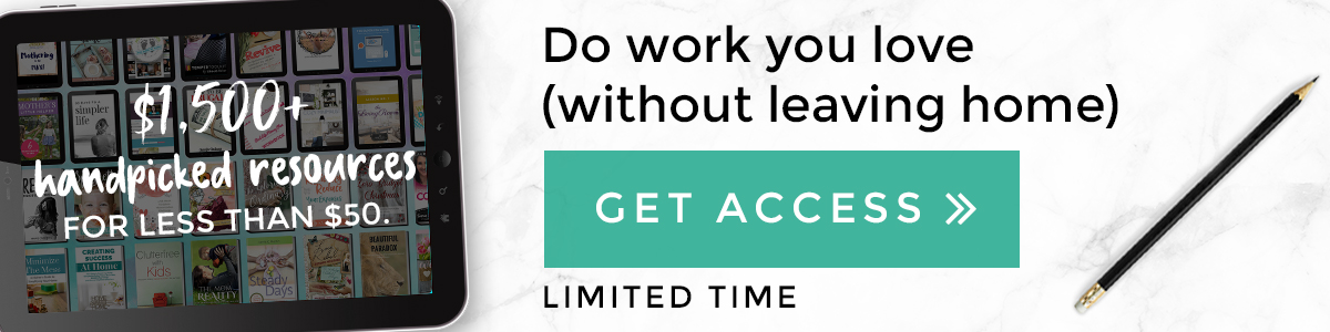 work from home banner