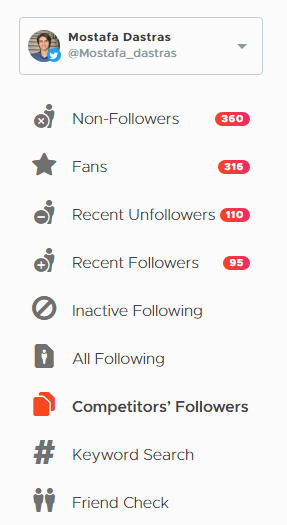 Crowdfire's Twitter growth feature