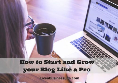 start your blog like a pro