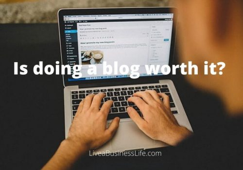 Is doing a blog worth it