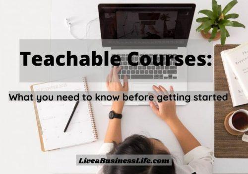 Teachable courses